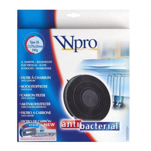Wpro Antibakteriális Aktívszénszűrő FAC269, 481281718528, Type 26