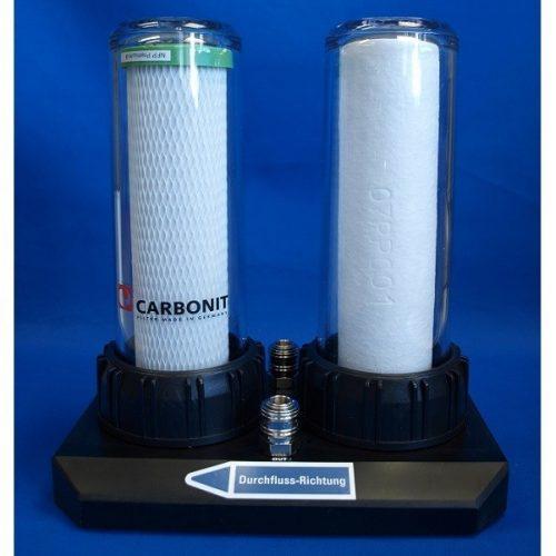 Carbonit alulszámláló szűrő DUO-HP Special