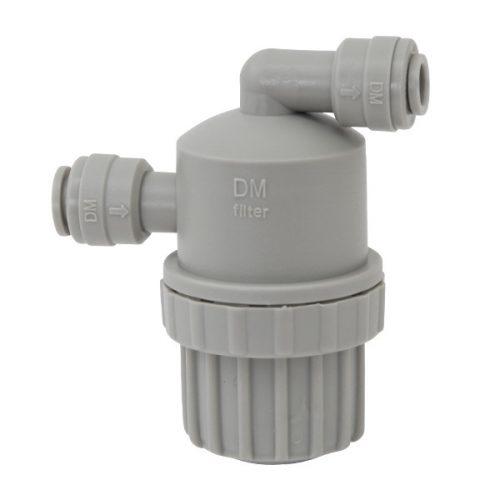 Mini szűrő vízszűrő 1/4 hüvelykes tömlőhűtőhöz Fordított ozmózis