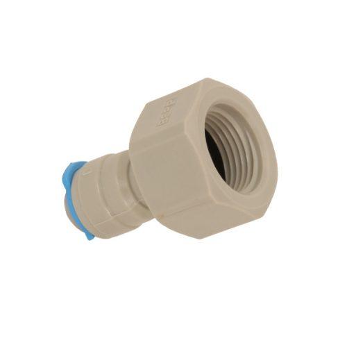 3/8 vízcsatlakozás 1/4 hüvelykes műanyag ozmózisú vízszűrő tömlőhöz
