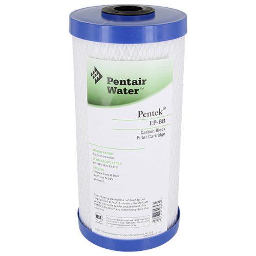 Pentek 10 hüvelykes nagy kék szén blokk vízszűrő EP-BB 5 μm