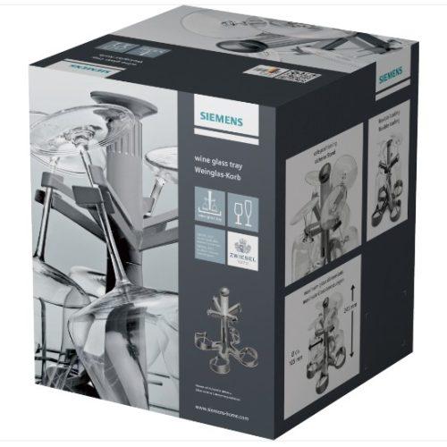 Siemens üvegtartó 4 hosszú szárú pohárhoz