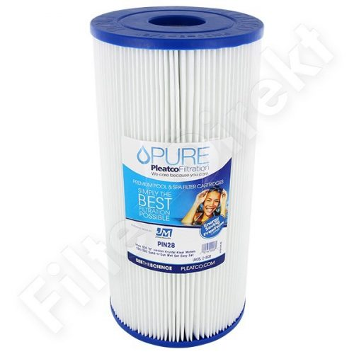 Pleatco tiszta vízszűrő PIN28