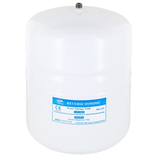 Osmosis tartály / fémtároló tartály 2 gallon