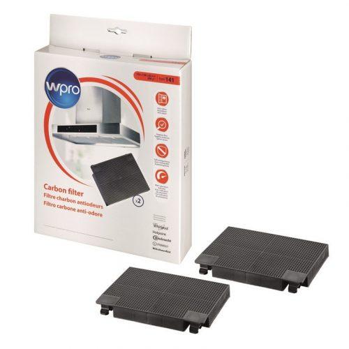 Wpro Aktivált szénszűrő 484000008781 141-es típusú D141 alternatíva az AEG EFF70-hez