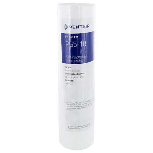 Pentek P5 PS5-10 üledék vízszűrő Gyertyatartó 10 hüvelyk 5 mikron