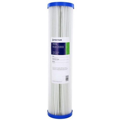 Pentek R30-20BB 20 hüvelykes nagy kék üledékszűrő vízszűrő 30 Micron