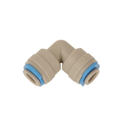 DM-fit szögtömlő csatlakozó 1/4 hüvelykes tömlőhöz