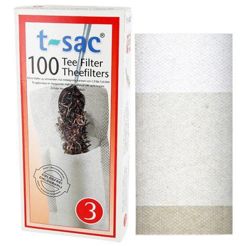 T-sac Tea szűrő Gr. 3 (100 db)