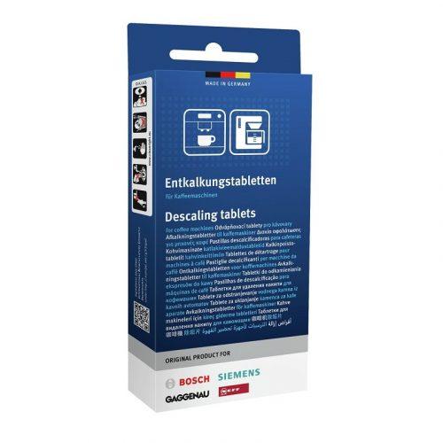 Vízkőmentesítő tabletták Bosch, Neff, Gaggenau, Siemens 00311821 - TCZ8002