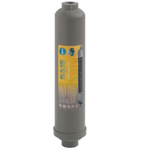 Kékszűrők AC-IL-GAC Inline Post Carbon Postfilter szűrő vízszűrő
