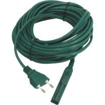 Zöld kábel 10M 2x0M.75MM ITALIAN PLUG